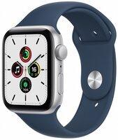 Смарт-годинник Apple Watch SE Silver 40mm Abyss Blue Sport Band