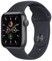 Смарт-годинник Apple Watch SE Space Gray 44mm Midnight Sport Band
