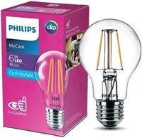 Лампа світлодіодна Philips LED Classic 6-60W A60 E27 865 CL NDAPR (929001974613)