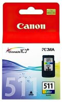 Картридж струйный CANON CL-511 цв. MP260 (2972B007)