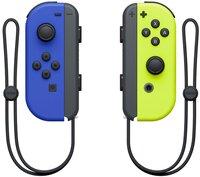 Набор 2 контроллера Joy-Con (синий/неоновый желтый)