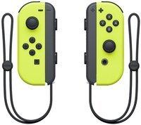 Набор 2 контроллера Joy-Con (неоновые желтые)