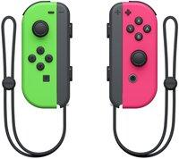 Набор 2 контроллера Joy-Con (неоновый зеленый/неоновый розовый)