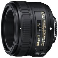 Объектив NIKON AF-S 50 mm f/1.8G (JAA015DA)