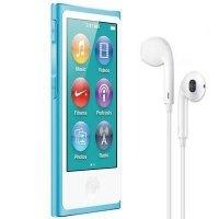 MP3-плеєр APPLE iPod nano 16GB Blue (7Gen) - 2012