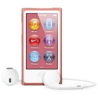 MP3 плеер APPLE iPod nano 16GB Pink (7Gen) - 2012