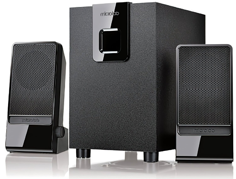 Акустична система 2.1 Microlab M-100 black (M-100) фото1