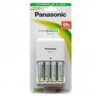 Зарядное устройство Panasonic BQ-CC03 + 4хAA 2050 mAh NI-MH (BK-KJQ03E40E)