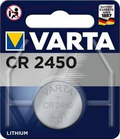 Батарейка VARTA CR 2450 BLI 1 LITHIUM (6450101401)