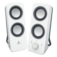 Акустическая система 2.0 Logitech Z-200 White (980-000811)
