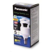 Энергосберегающая лампа Panasonic 5W (25W) 6500K E14 (EFD5E65HDE14MR)