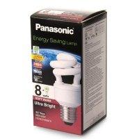 Энергосберегающая лампа Panasonic 8W (40W) 2700K E27 (EFD8E27HD3MR)