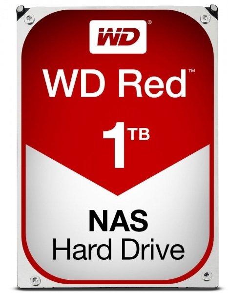 Купить Жесткий диск внутренний WD 3.5 SATA 3.0 1TB IntelliPower 64MB Red (WD10EFRX)