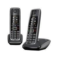 Телефон Dect Gigaset C530 DUO Black