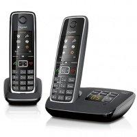 Телефон DECT Gigaset C530A DUO Black