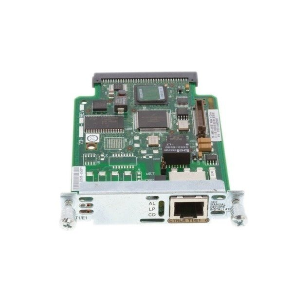 Модуль Cisco 1-Port 2nd Gen Multiflex Trunk Voice/WAN Int. Card - T1/E1 (VWIC2-1MFT-T1/E1=) фото 1