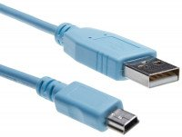 Кабель Cisco Console Cable 6 ft with USB Type A and mini-B (CAB-CONSOLE-USB=)