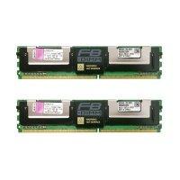 Пам'ять серверна Kingston DDR2 16GB 667 (8Гбх2шт.) Для HP (KTH-XW667/16G)