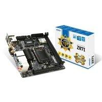 Материнська плата MSI Z87I s1150 2xDDR3 USB3.0 SPDIF 2xLAN WiDi Wi-Fi (Z87I)