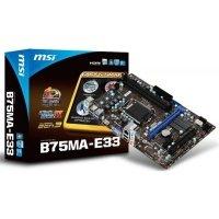 Материнська плата MSI B75MA-E33 s1155 (B75MA-E33)