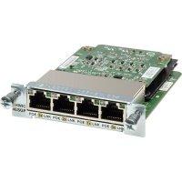 Модуль Cisco Four port 10/100/1000 Ethernet switch interface card (EHWIC-4ESG=)