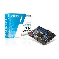 Материнська плата MSI G41M-P33_Combo s775 (G41M-P33_Combo)