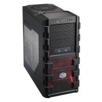 Корпус Cooler Master HAF 912 Advanced, без БЖ, із прозорою стінкою, 2xUSB3.0, повністю чорний (RC-912A-KWN1)