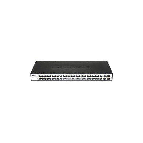 Купить Коммутаторы неуправляемые, КоммутаторD-LinkDES-1050G48port10/100BaseTX, 2port1000BaseT (DES-1050G)