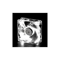Корпусный вентилятор Cooler Master BC 80 LED FAN, 80мм,1800об/мин,3pin,19dBA,4xLED,белая подсветка (R4-BC8R-18FW-R1)