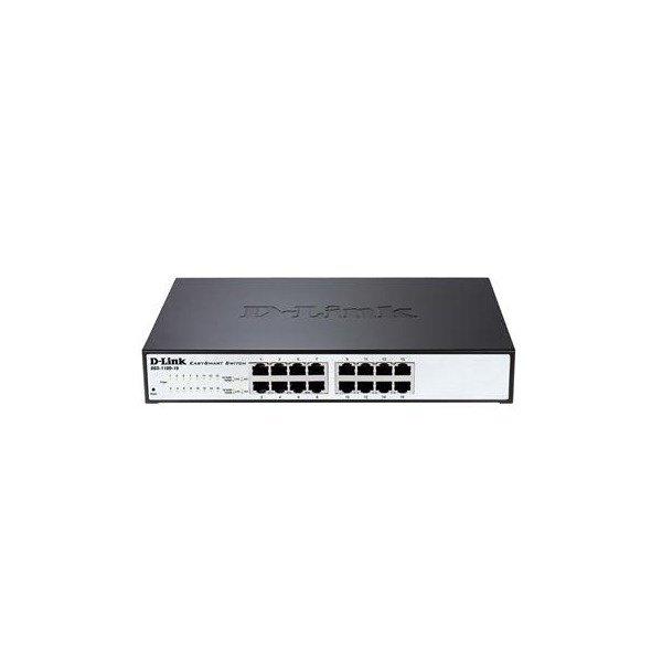 Купить Коммутаторы настраиваемые (Smart), КоммутаторD-LinkDGS-1100-16