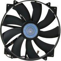 Корпусный вентилятор Cooler Master MegaFlow 200 Silent Fan,w/o LED,200мм,3pin+Molex (R4-MFJR-07FK-R1)