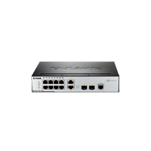 Купить Коммутаторы управляемые, КоммутаторD-LinkDGS-3000-10TC8port10/100/1000BaseT, 2Combo/SFP (DGS-3000-10TC)
