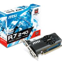 Відеокарта MSI Radeon R7 240 2GB DDR3 Low Profile (R7_240_2GD3_LP)