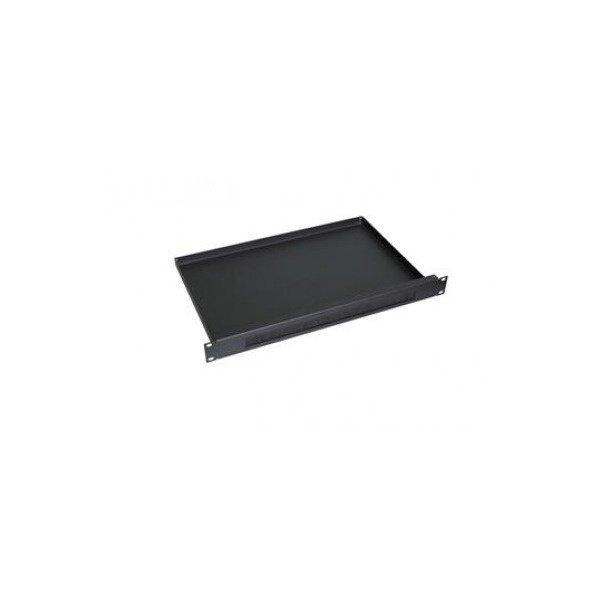 Купить Панель ZPAS с щеткой 1U глубиной 50 мм черного цвета (WZ-SB63-00-01-161)