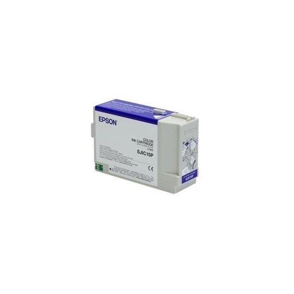 Картридж Epson SJIC15P 3 COLOR TM-C3400, C610 (C33S020464) фото