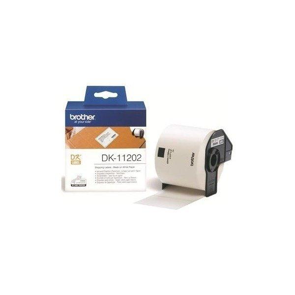 Картридж Brother для специализированного принтера QL-1060N/QL-570 (трн.наклейки 62mm x 100mm) (DK11202) фото 1