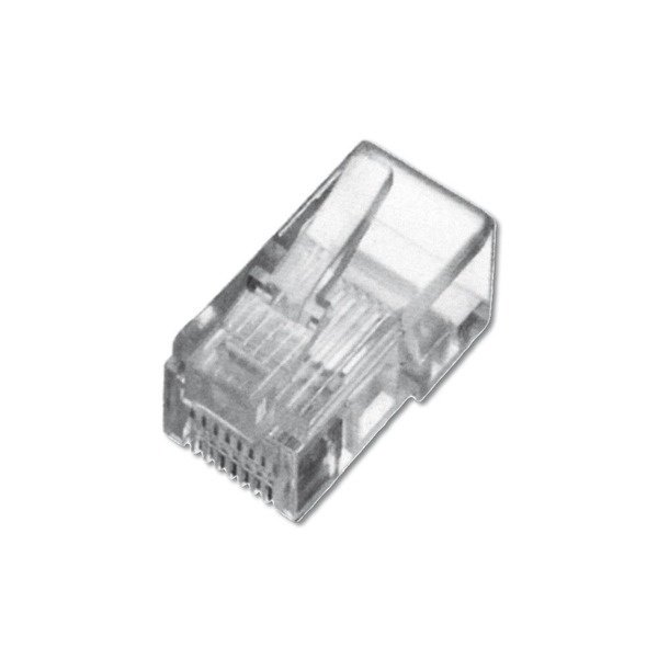 Купить Опции к сетевому оборудованию, Коннектор DIGITUS RJ45 Cat.5e UTP (A-MO8/8SF)