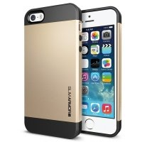 Чехол SGP для iPhone 5/5S/SE Case Slim Armor S Champagne Gold