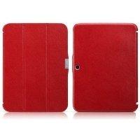 "Чехол к планшету i-Carer для Galaxy Tab 3 GT-P5200 10.1"" кожаний Red"