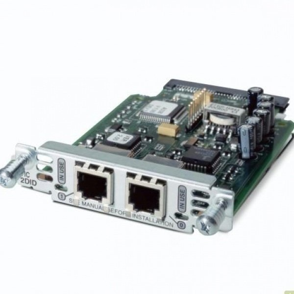 Модуль Cisco Two-Port Voice Interface Card- FXS and DID (VIC3-2FXS/DID=) фото 1