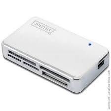 Кардрідер Digitus DA-70323 USB 2.0 All in1, White-Chrome фото1