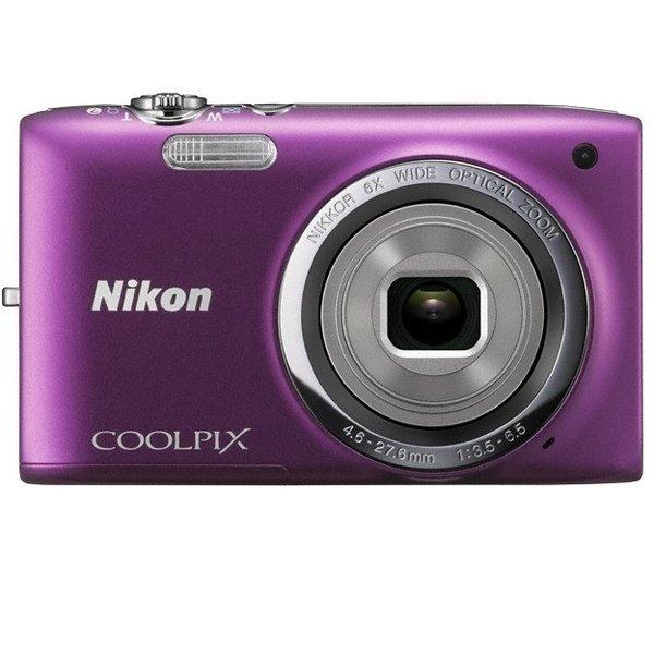 ≡ Фотоапарат NIKON Coolpix S2700 Purple (VNA304KV01) – купити в ... bca6c175dd81a