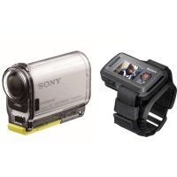 Экшн-камера SONY HDR-AS100V + пульт д/у RM-LVR1 (HDRAS100VR.CEN)