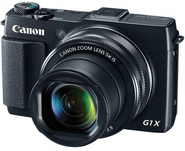 Купить Фотоаппарат CANON PowerShot G1 X Mark II c Wi-Fi (9167B013)