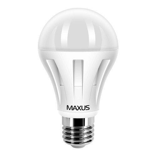 Світлодіодна Лампа Maxus LED-285 A60 12W 3000K 220V E27 AL (1-LED-285)фото