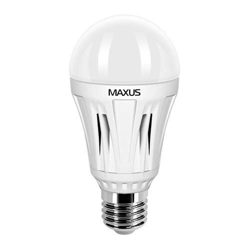 Светодиодная Лампа Maxus LED-347 A60 12W 3000K 220V E27 AL (1-LED-347) фото