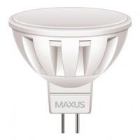 Светодиодная Лампа MAXUS MR16 5W 4100K 12V GU5.3 AL (1-LED-292) (1-LED-292)
