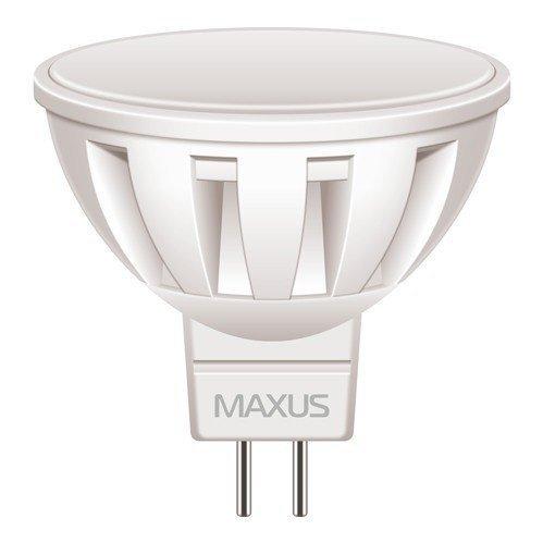 Светодиодная Лампа Maxus LED-290 MR16 5W 4100K 220V GU5.3 AL (1-LED-290) фото