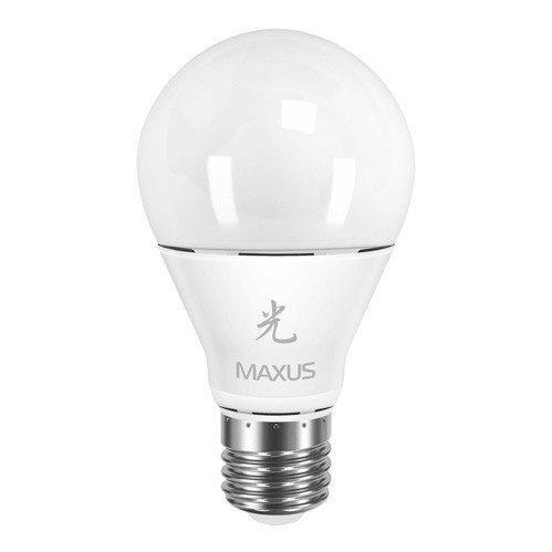 Светодиодная Лампа Maxus A60 10W 3000K 220V E27 AP (1-LED-463) фото