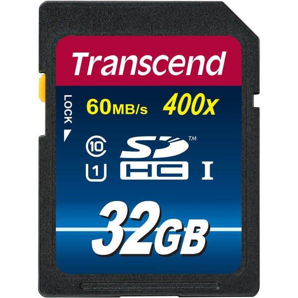 Купить Карты памяти SD, Карта памяти TRANSCEND SDHC 32GB Class 10 Premium UHS-I R60 MB/s (TS32GSDU1)